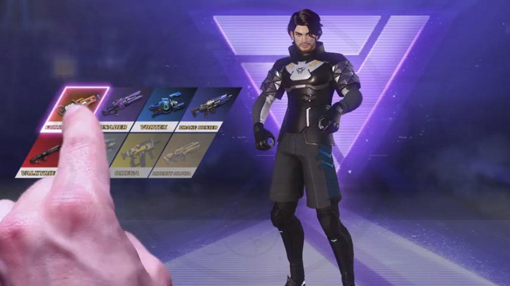 サイバーハンター(Cyber Hunter) 武器選択スクリーンショット