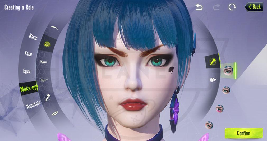 サイバーハンター(Cyber Hunter) キャラクターメイキングスクリーンショット