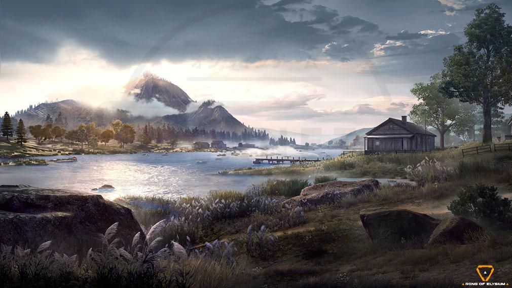 Ring of Elysium (ROE) 自然災害に襲われたヨーロッパアイランド紹介イメージ