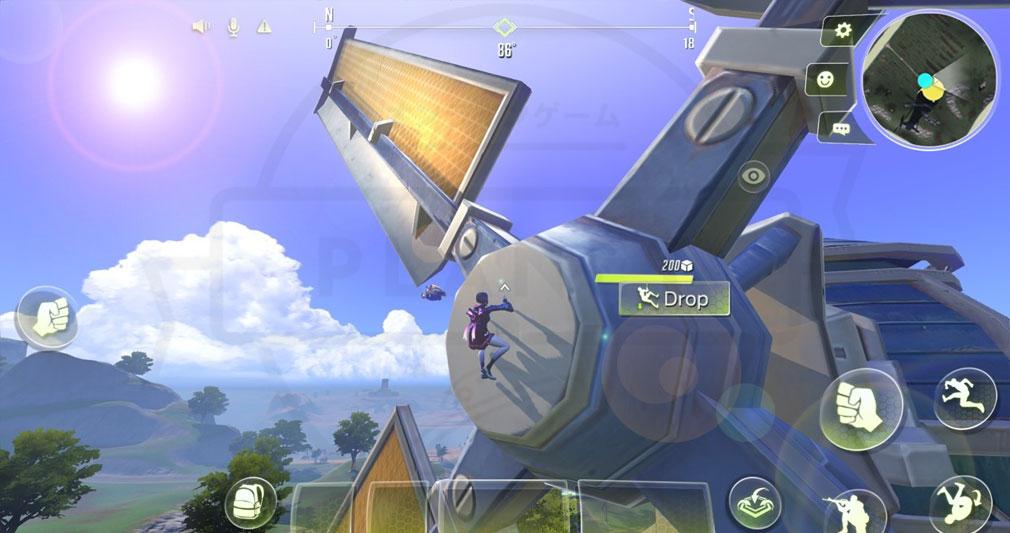 サイバーハンター(Cyber Hunter) クライミングスクリーンショット