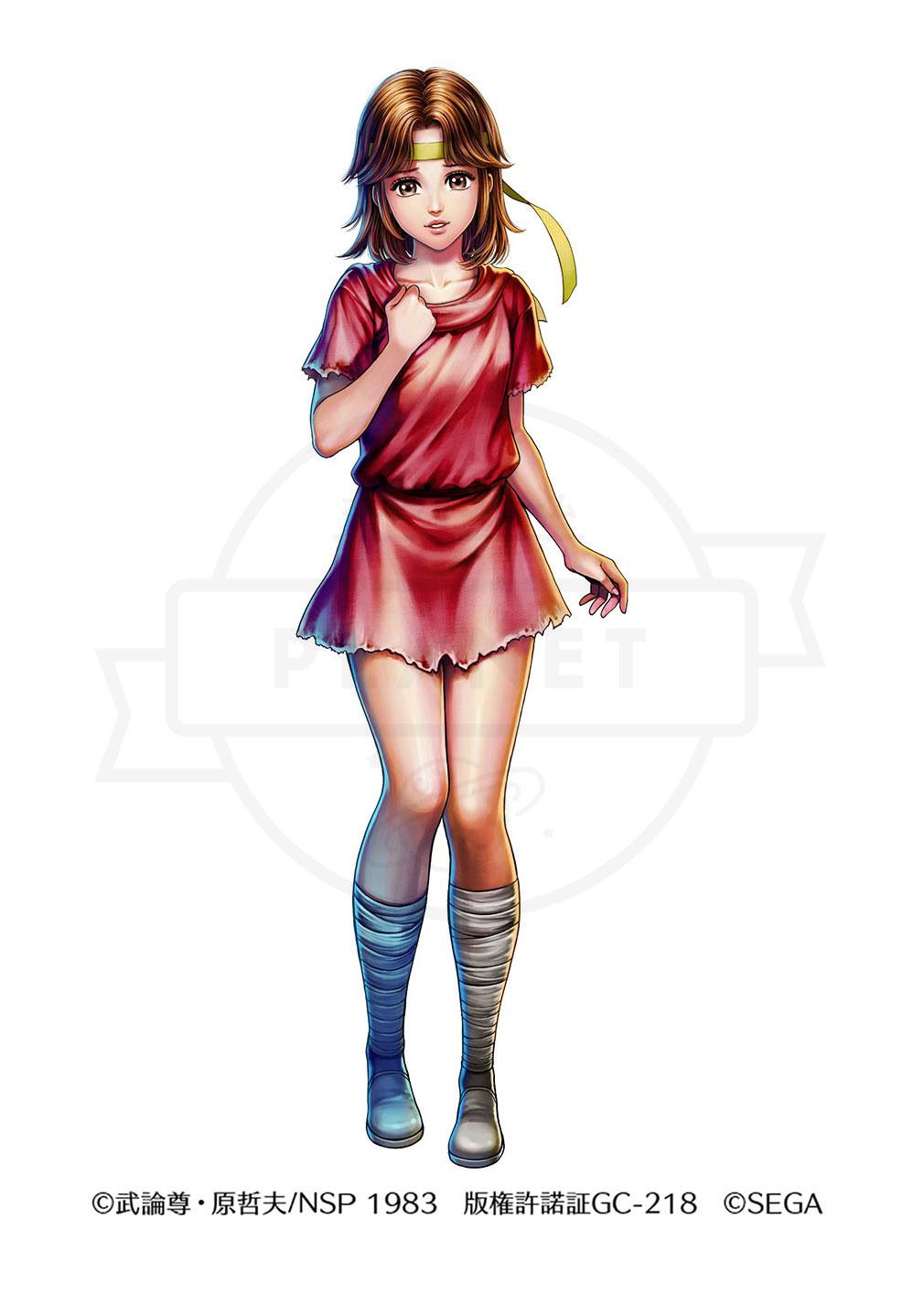 北斗の拳 LEGENDS ReVIVE(北斗リバイブ) キャラクター『リン』紹介イメージ