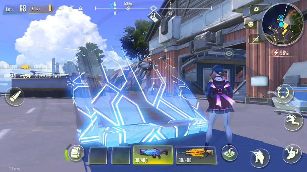 サイバーハンター(Cyber Hunter) 建設スクリーンショット