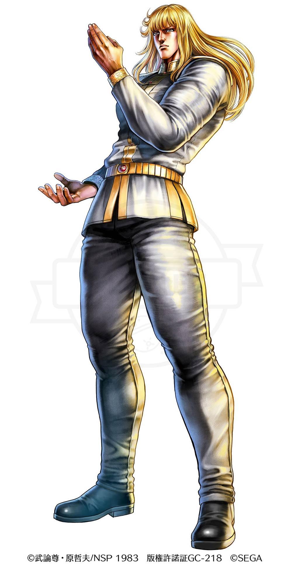 北斗の拳 LEGENDS ReVIVE(北斗リバイブ) キャラクター『シン』紹介イメージ