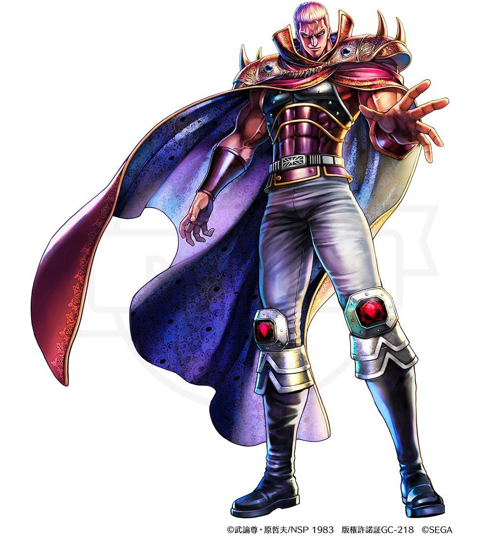 北斗の拳 LEGENDS ReVIVE(北斗リバイブ) キャラクター『サウザー』紹介イメージ