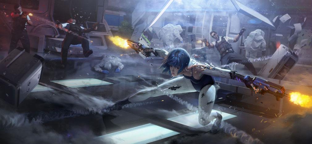 サイバーハンター(Cyber Hunter) キャラクター『ゼロ(ZERO)』紹介イメージ