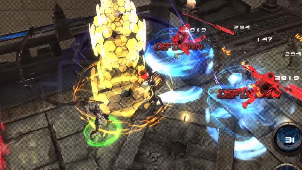 FOX Flame Of Xenocide DMM バトルスクリーンショット