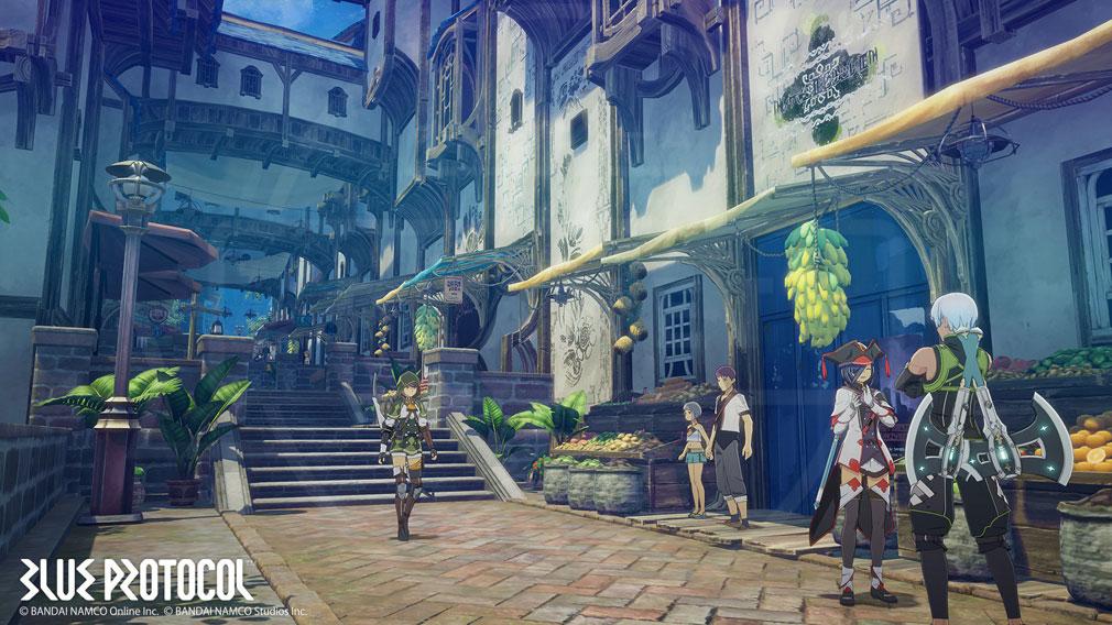BLUE PROTOCOL(ブループロトコル)ブルプロ 冒険の拠点となる『アステルリーズ』スクリーンショット