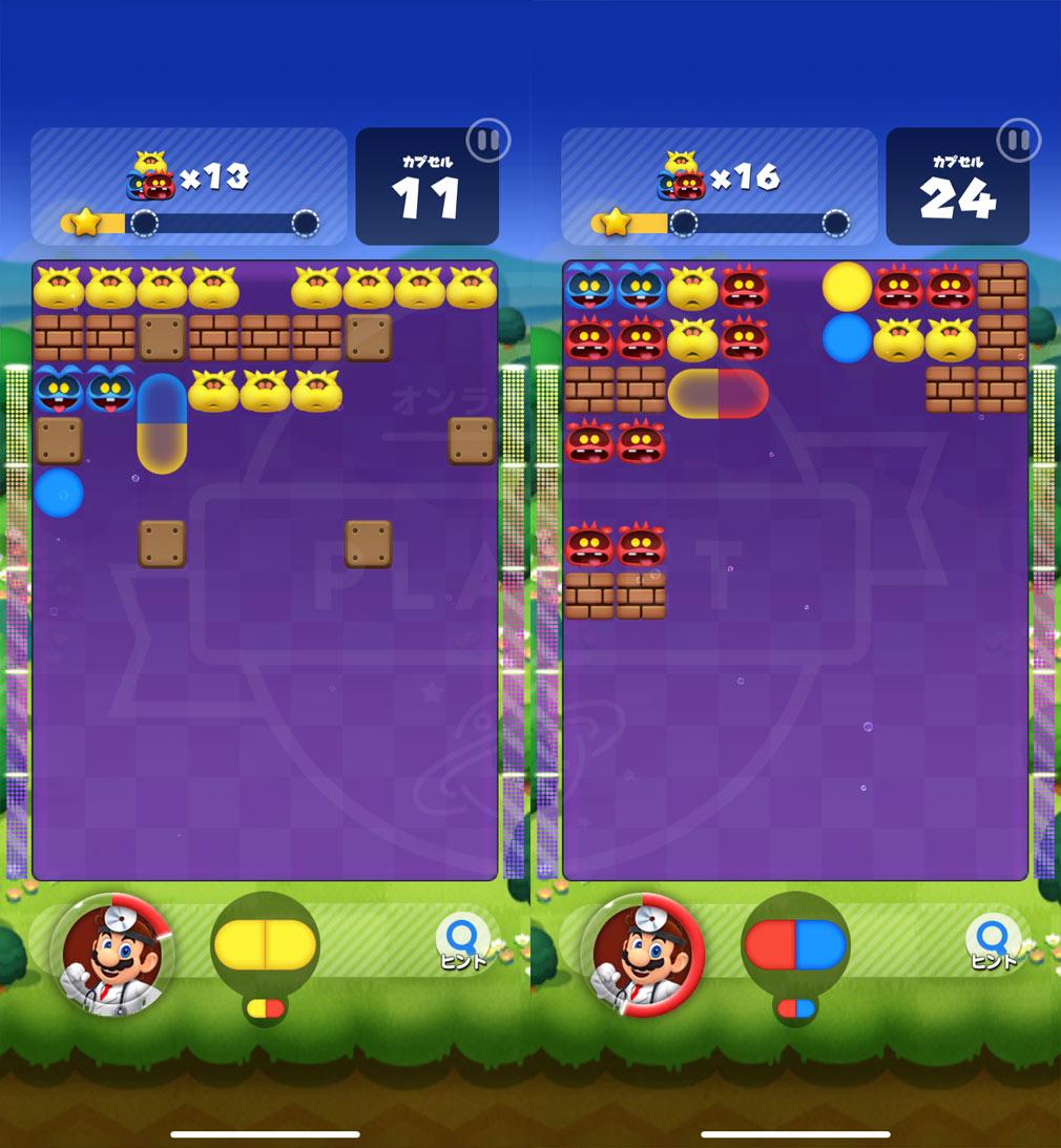 ドクターマリオ ワールド(Dr. Mario World) ステージプレイスクリーンショット