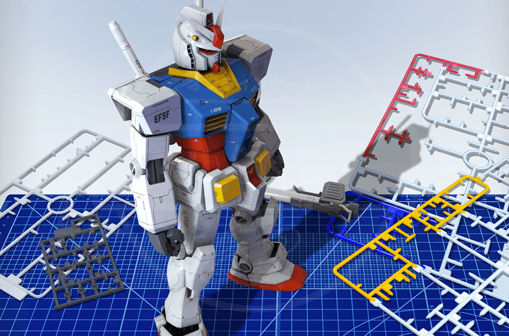 ガンダムブレイカーモバイル(ガンブレ) カスタムイメージ