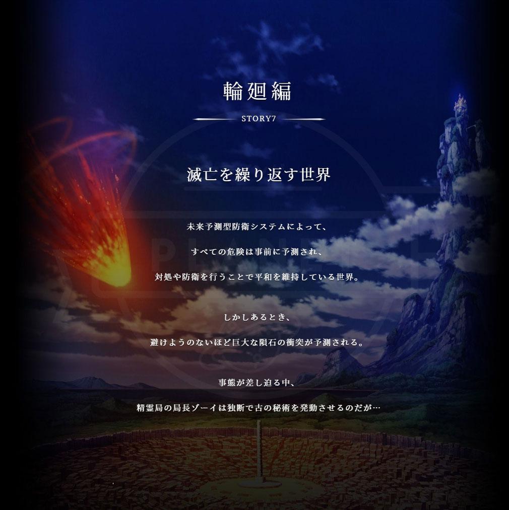 アルカ・ラスト 終わる世界と歌姫の果実(アルラス) 『輪廻編』物語紹介イメージ