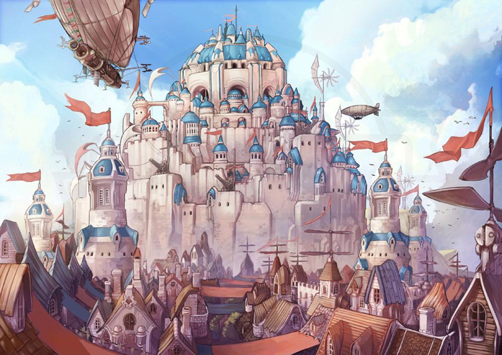 MEOW 王国の騎士 キャメロットの都市『風の城 ランスロット』紹介イメージ