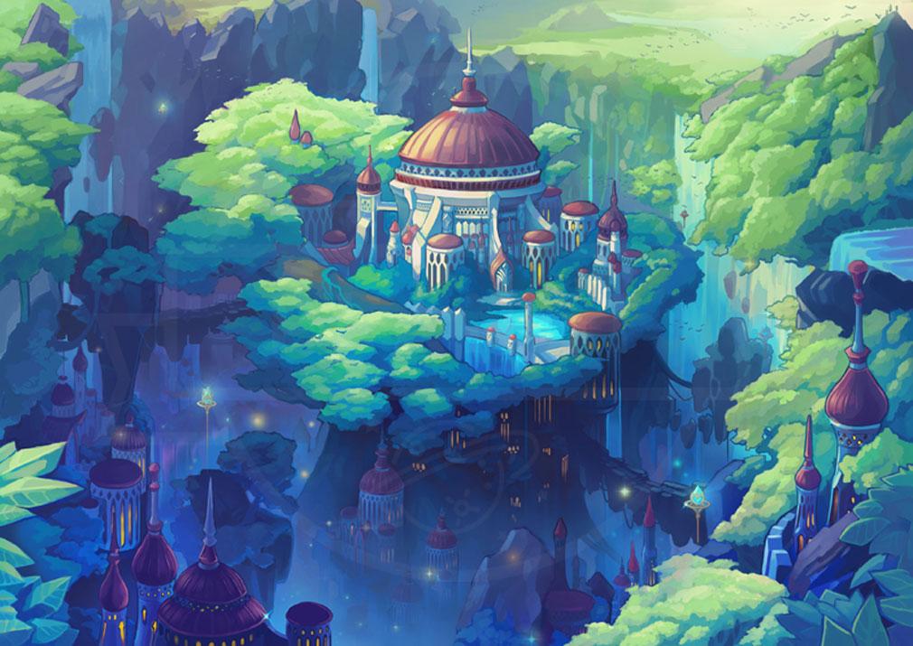 MEOW 王国の騎士 キャメロットの都市『最古の魔法の都 エデン』紹介イメージ