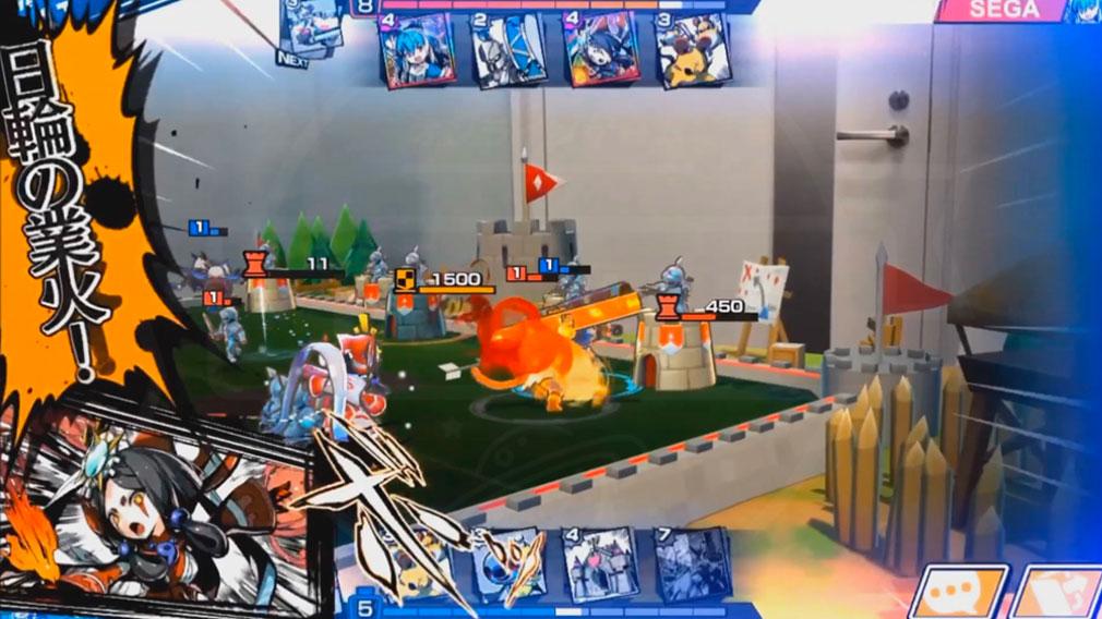 リーグ オブ ワンダーランド(リグワン) AR視点で観戦できる『アマテラス』のドローショットスクリーンショット