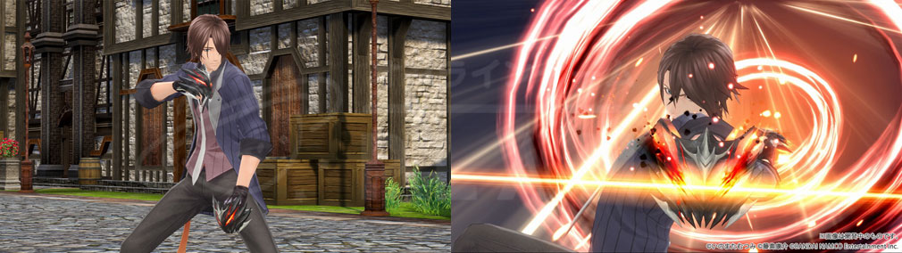テイルズ オブ クレストリア(テイクレ) メインキャラクター『オウレン・グランバーグ(Orwin Granberg)』の武器、秘奥義スクリーンショット