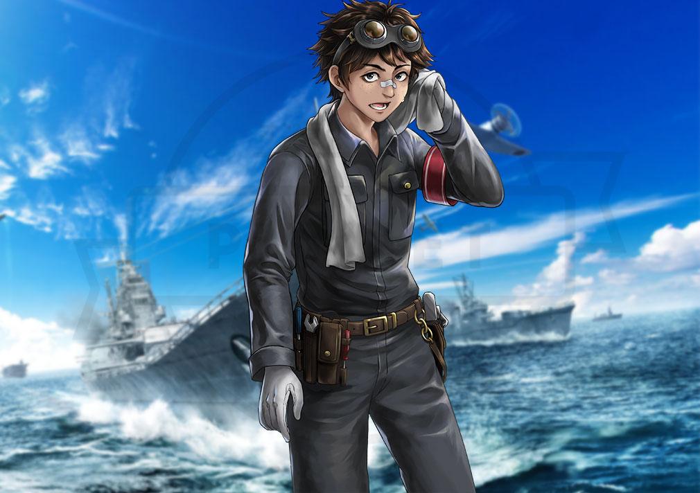 艦つく Warship Craft キャラクター『平賀 丈』紹介イメージ