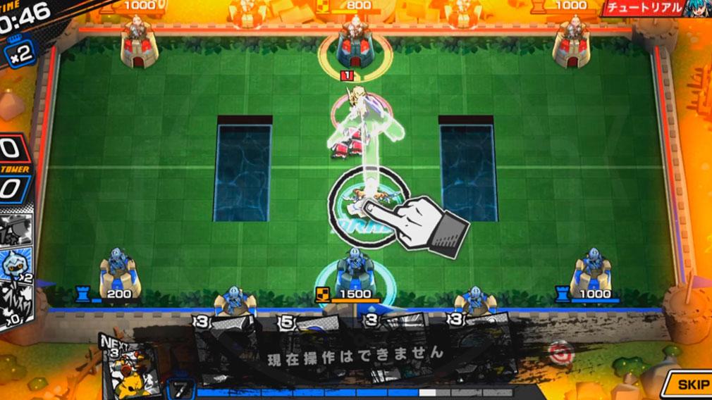 リーグ オブ ワンダーランド(リグワン) 敵のドローを封じ込める『ブレイク』アクションスクリーンショット
