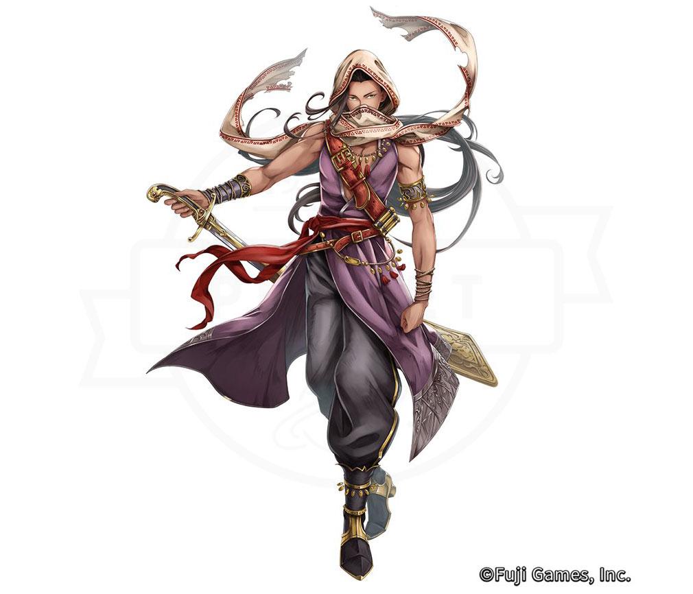 アルカ・ラスト 終わる世界と歌姫の果実(アルラス) 灼熱編キャラクター『ラドロ』紹介イメージ