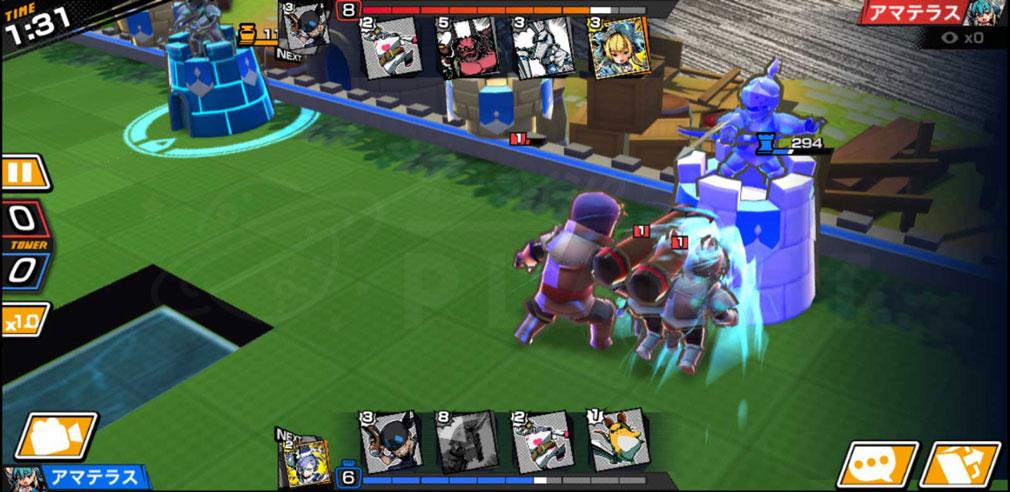 リーグ オブ ワンダーランド(リグワン) 3Dバトルスクリーンショット