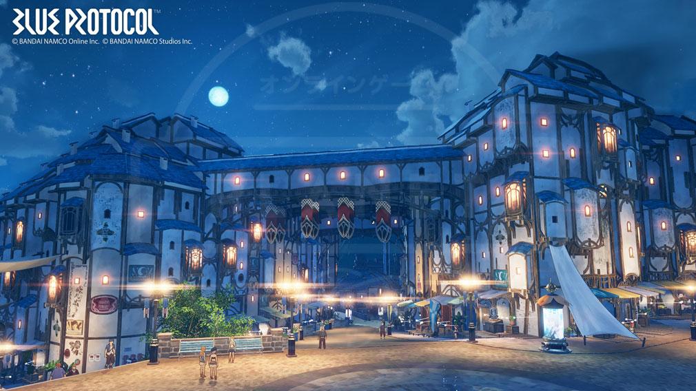 BLUE PROTOCOL(ブループロトコル)ブルプロ 街の外観スクリーンショット