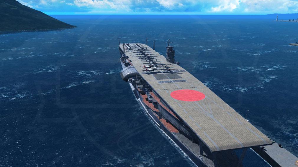 艦つく Warship Craft 空母艦『赤城』スクリーンショット