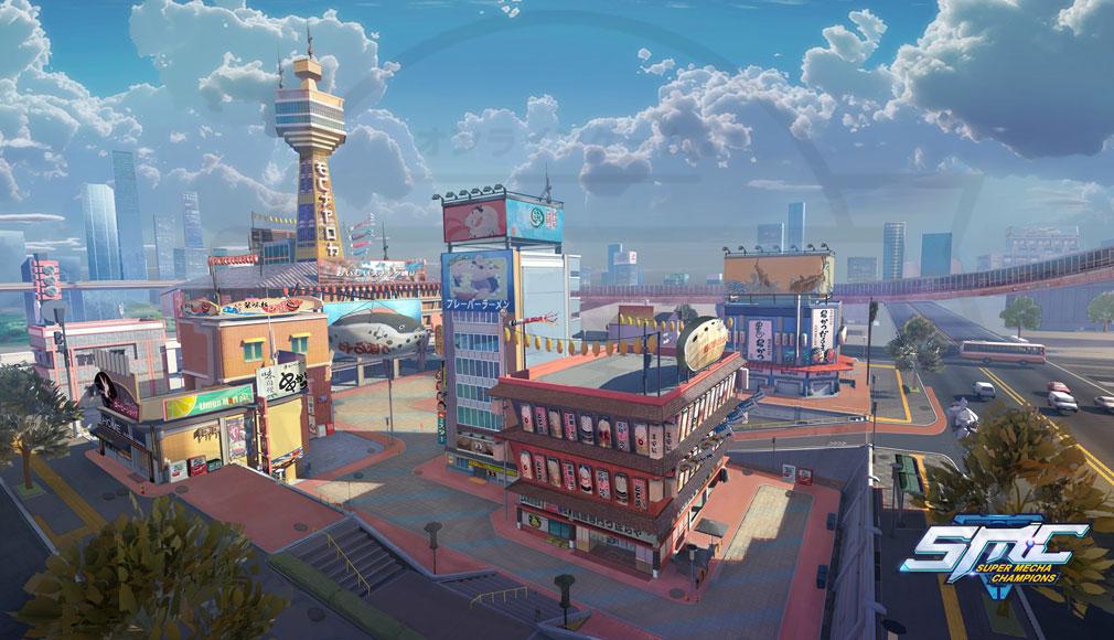機動都市X 世界観紹介イメージ