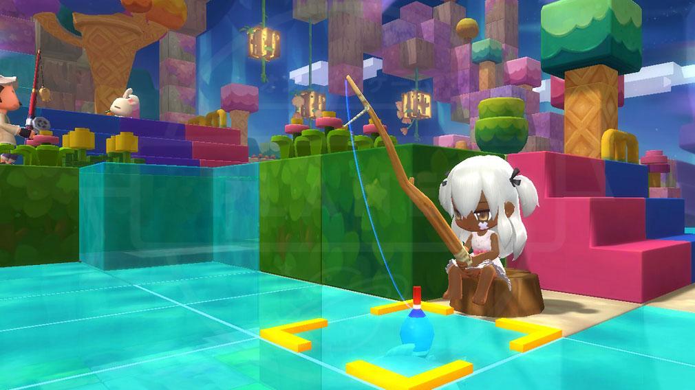メイプルストーリー2(MAPLE STORY2) 釣りスクリーンショット