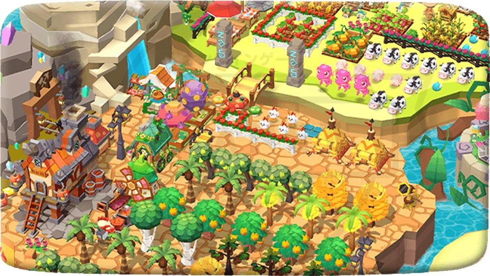 ファンタジーファーム ようせい島のボクとキミ 可愛い農場デコレーションスクリーンショット