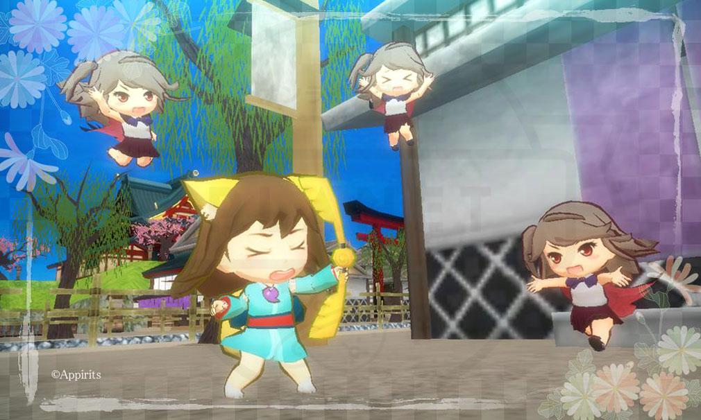 かくりよの門 朧(おぼろ) キャラクターの可愛い表情スクリーンショット