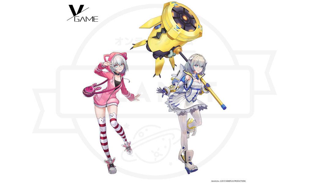 VGAME キャラクター『シャーミール』紹介イメージ