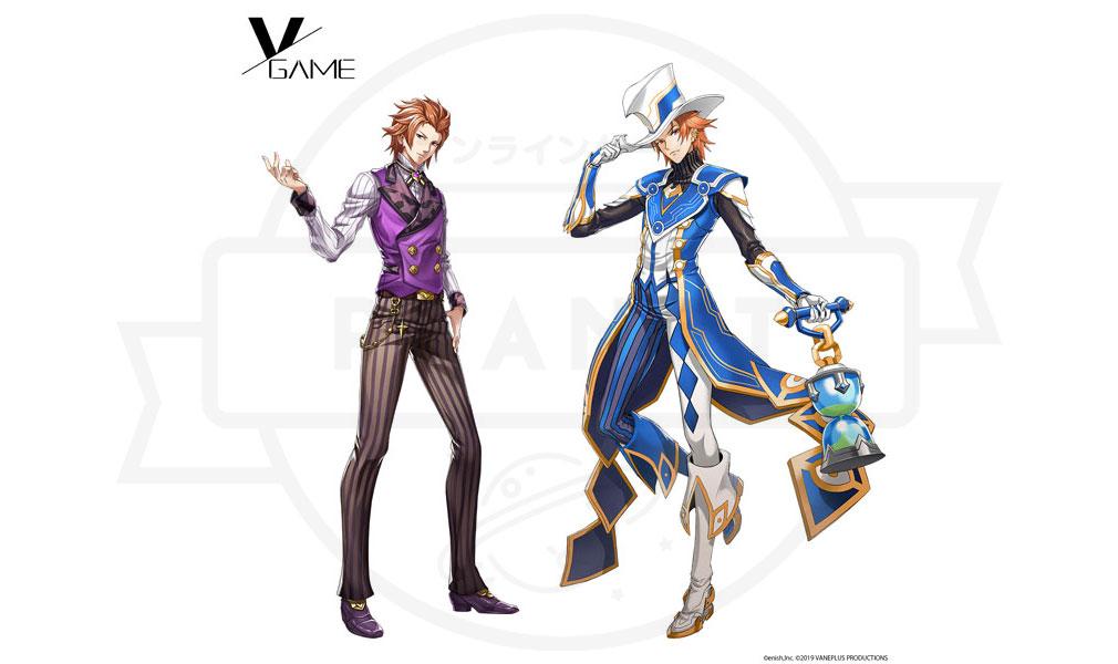VGAME キャラクター『ファル・ギス』紹介イメージ