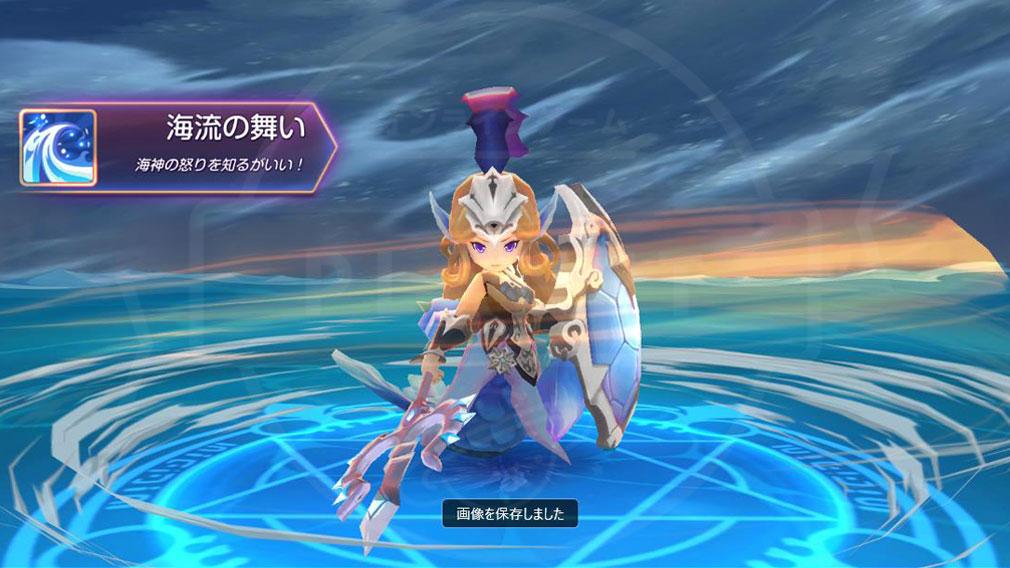 キングダム オブ ヒーロー Kingdom of Hero(キンヒロ) 『スキル』発動スクリーンショット