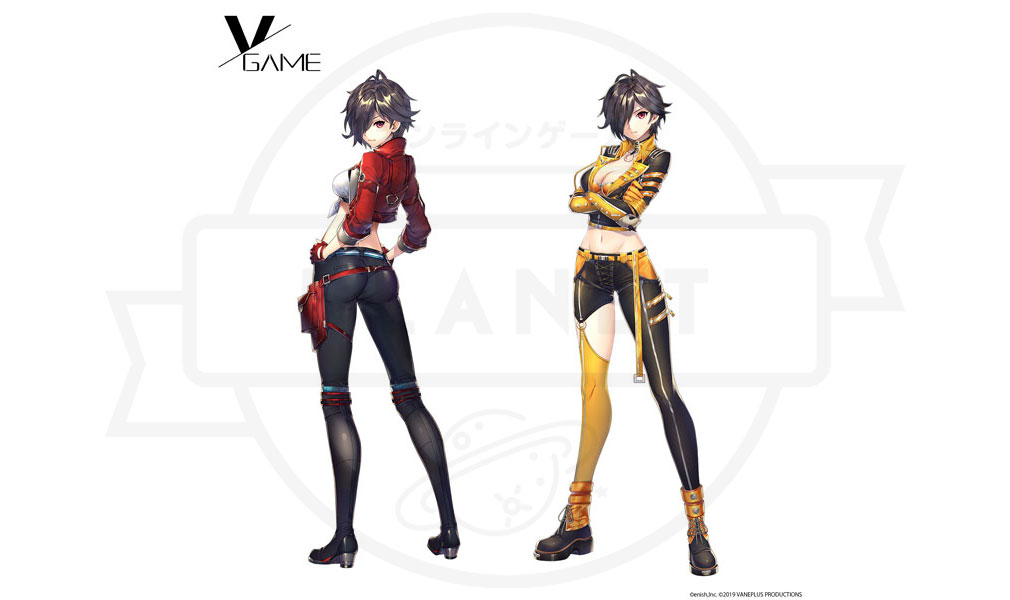 VGAME キャラクター『エヴァロール・リナ』紹介イメージ