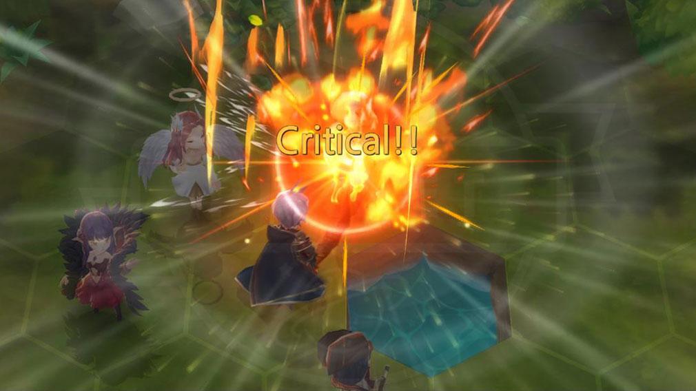キングダム オブ ヒーロー Kingdom of Hero(キンヒロ) 『クリティカル』ダメージバトルスクリーンショット