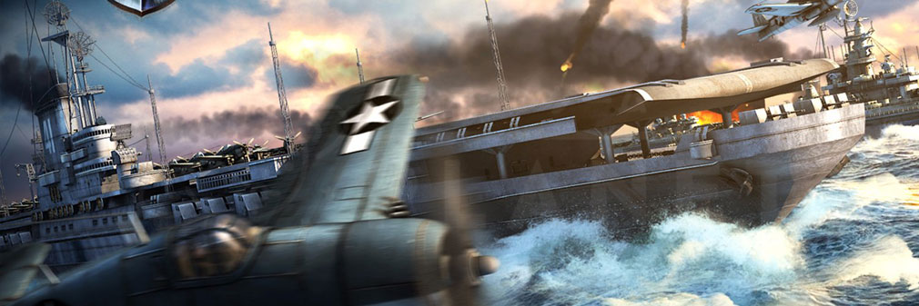 Warship Saga ウォーシップサーガ フッターイメージ