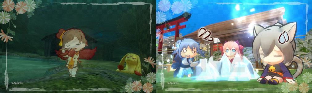かくりよの門 朧(おぼろ) シリーズ初の3D化したキャラクタースクリーンショット