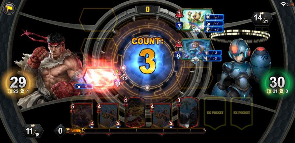 TEPPEN(テッペン) カプコン人気キャラクターたちが登場しているバトルスクリーンショットバトル