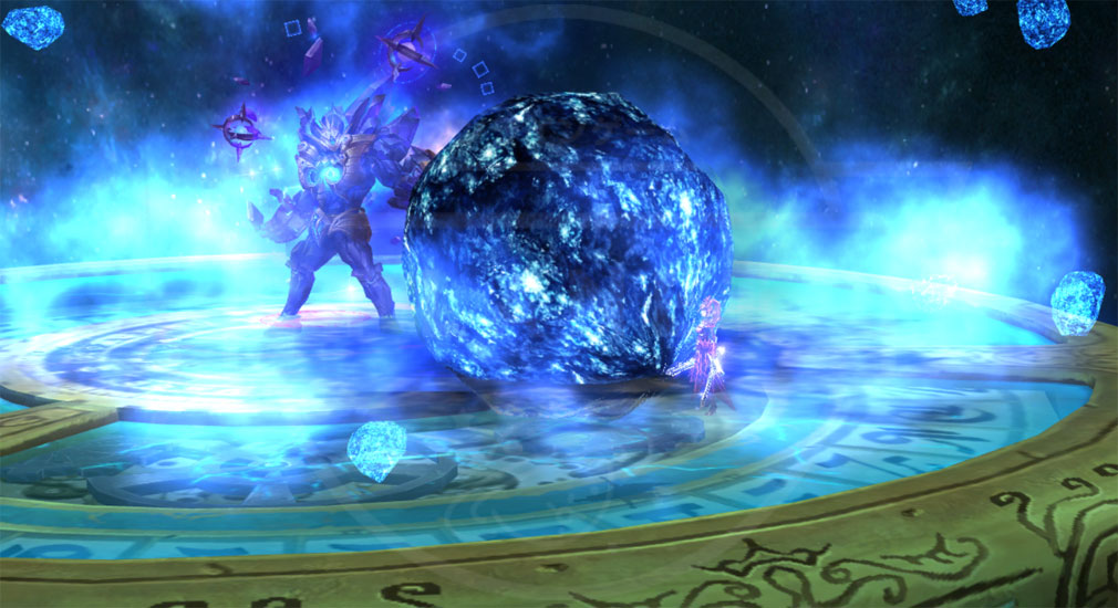 マジックオブアーク(MOA) 剣士のレイドバトルスクリーンショット