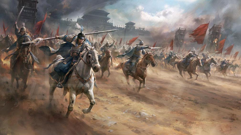 天地の如く 激乱の三国志 三国志最強の『連盟』を目指していくイメージ