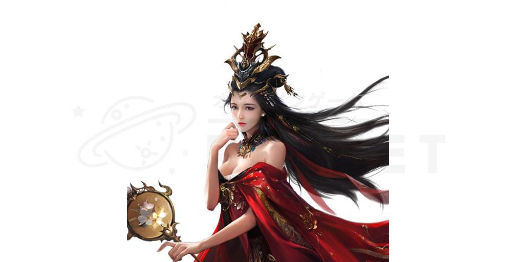 天地の如く 激乱の三国志 美女キャラクター『貂蝉』紹介イメージ