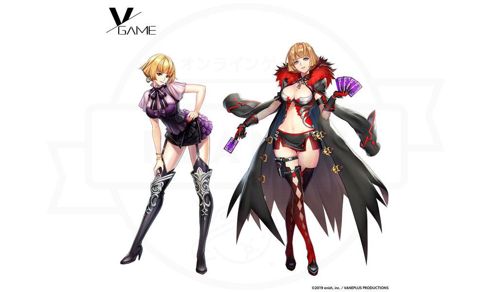VGAME キャラクター『ヴィシール』紹介イメージ