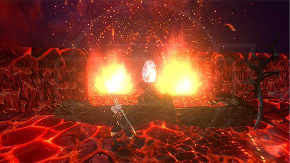 クレサマルス物語 マグマの奥にあるワープゲートのスクリーンショット