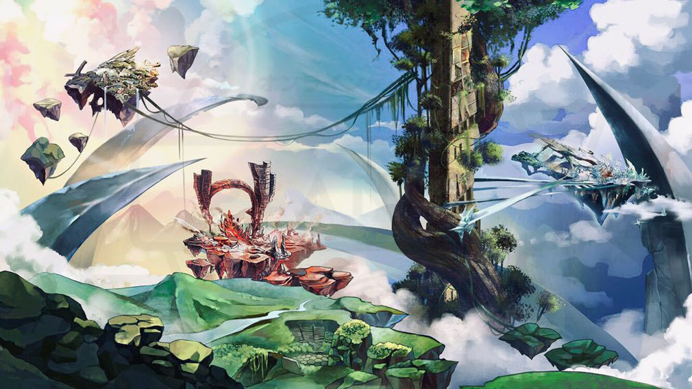 クレサマルス物語 巨大な世界樹に繋がれた、空に浮かぶ島々紹介イメージ