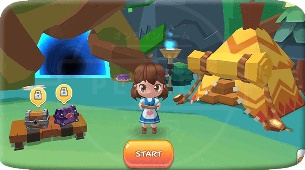 ファンタジーファーム ようせい島のボクとキミ ゲーム開始画面スクリーンショット