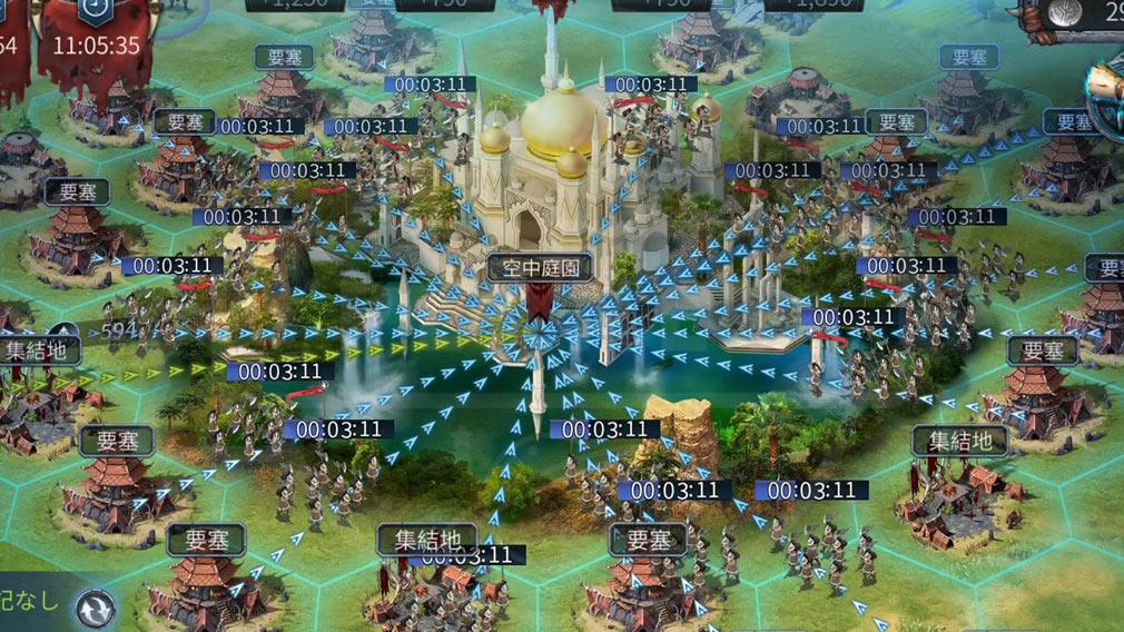 ブラックホライズン Black Horizon(ブラホラ) 大神殿を制覇するスクリーンショット