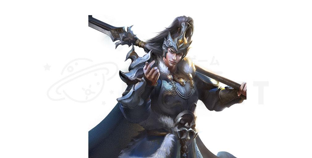 天地の如く 激乱の三国志 武将キャラクター『馬超』紹介イメージ