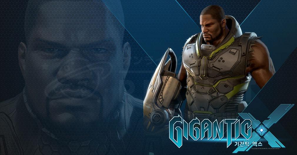 Gigantic X(ギガンティックX) キャラクター『Titan(タイタン)』紹介イメージ