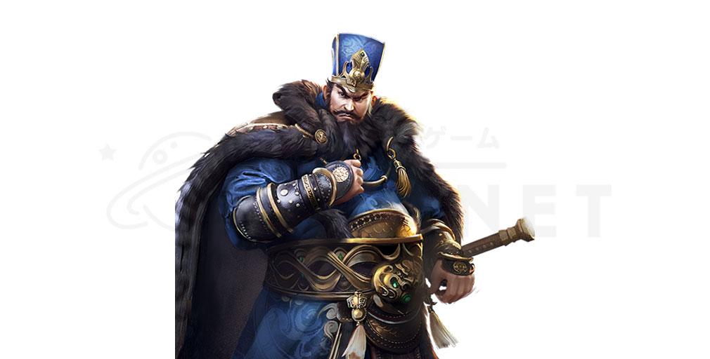 天地の如く 激乱の三国志 武将キャラクター『董卓』紹介イメージ