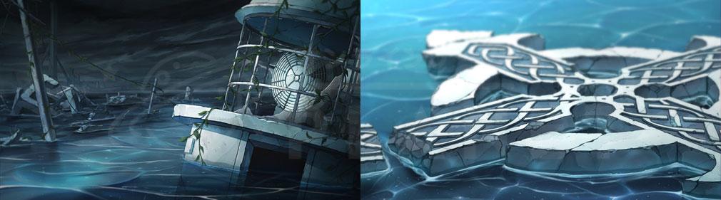 Project NOAH プロジェクト ノア (プロノア) 海に飲まれかけている惑星『ノア』紹介イメージ