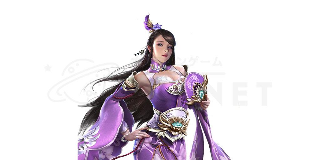 天地の如く 激乱の三国志 美女キャラクター『小喬』紹介イメージ