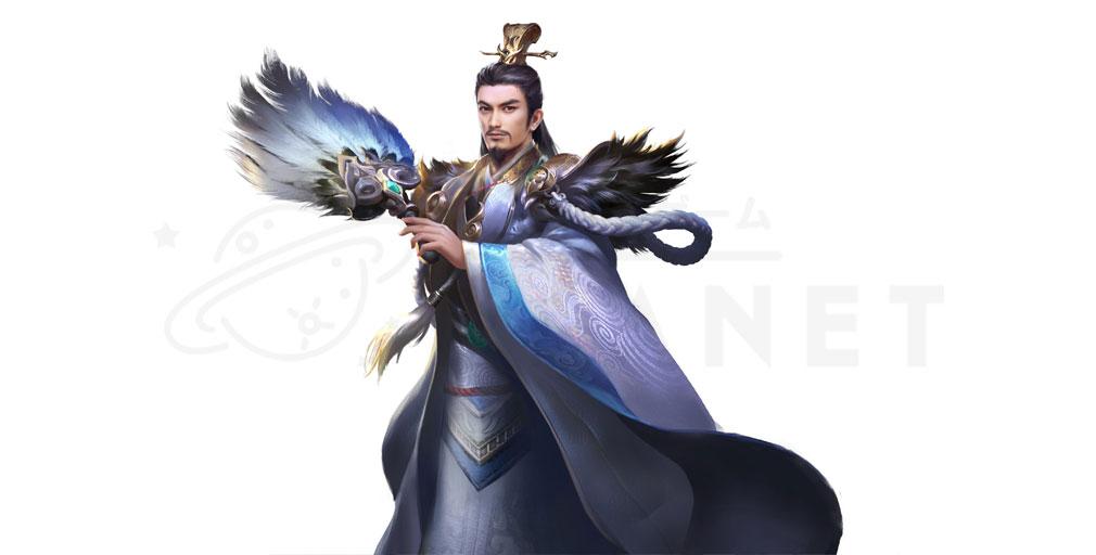 天地の如く 激乱の三国志 軍師キャラクター『諸葛亮』紹介イメージ